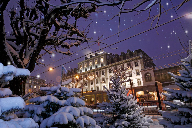 Weihnachtsbild Schweizerhof